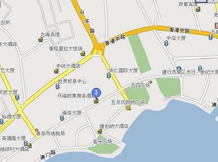 青岛314路 地图
